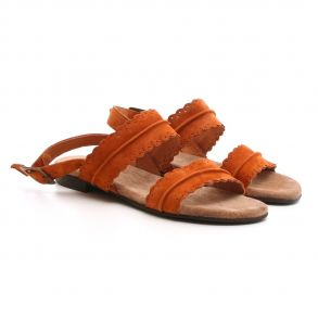 bb512e23 Cashott 19076-65 Sandal Cognac Cashott 19076-65 Sandal Cognac