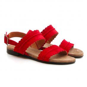 1857f28ee80 Cashott 21001-340 Sandal Sort - Sandaler - Cashott A/S