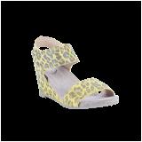 d5d15af7574f Cashott 13011-030 Sandal Gul Leopard - Sandaler - Cashott A S