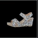 Cashott 15040 027 Sandal Beige Leopard