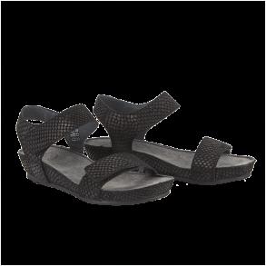 1e19536fa13 Cashott 19030-300 Sandal Sort Cashott 19030-300 Sandal Sort