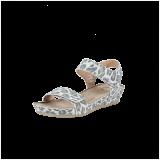 Cashott 21010 027 Sandal Beige Leopard